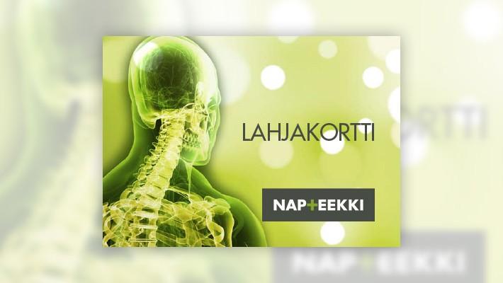 Osta lahjaksi Napteekin lahjakortti!